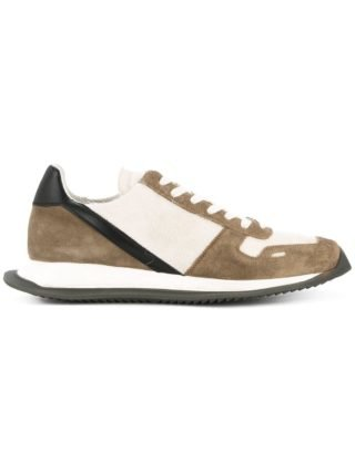 Rick Owens lace-up runner sneakers (bruin)