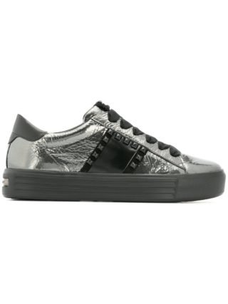 Kennel&Schmenger studded lace-up sneakers (zilver)