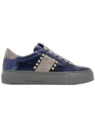 Kennel&Schmenger studded lace-up sneakers (blauw)