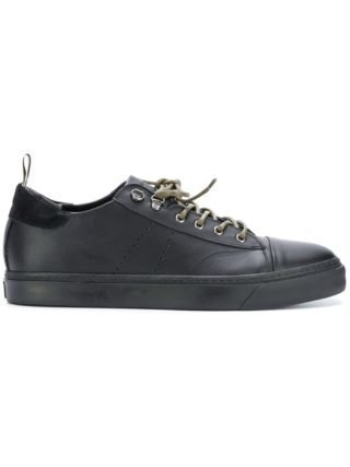 Low Brand lace-up sneakers (zwart)
