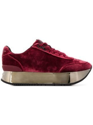 Calvin Klein Jeans platform sneakers - Red
