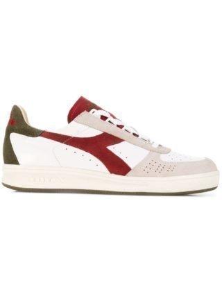 Diadora colour block sneakers (rood)