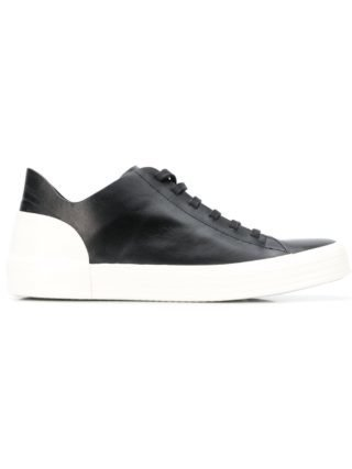 Del Carlo lace up sneakers (zwart)