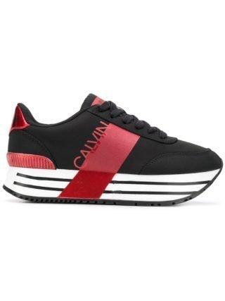 Calvin Klein Jeans platform sneakers - Black