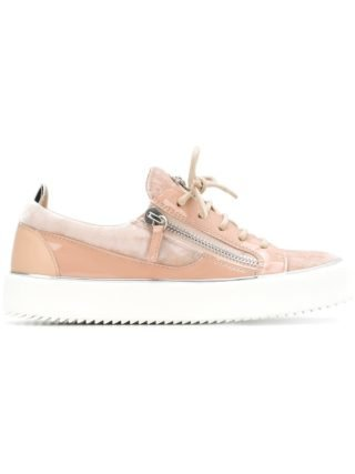 Giuseppe Zanotti Design low top panelled sneakers (roze/paars)
