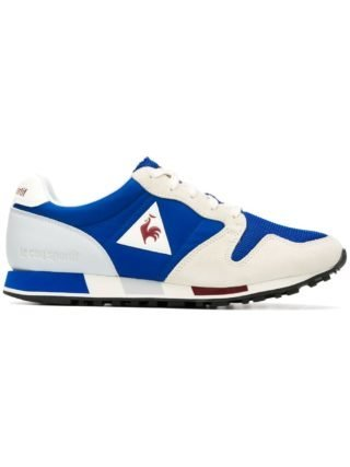 Le Coq Sportif colour block sneakers (blauw)