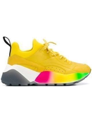 Stella McCartney rainbow Eclypse sneakers - Yellow & Orange