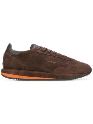 Ghoud lace-up sneakers (bruin)