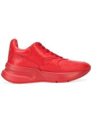 Alexander McQueen Oversized Runner sneakers - Red