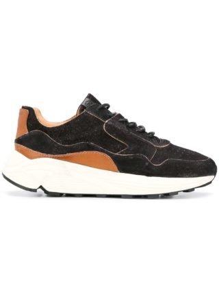 Buttero low top sneakers (zwart)