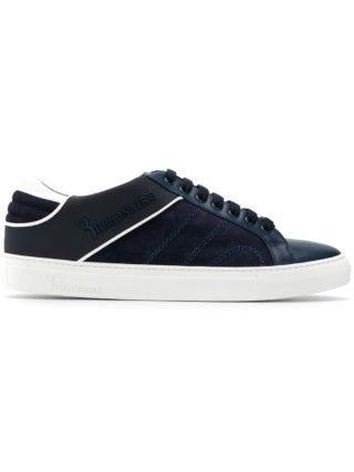 """Billionaire """"Berto"""" low-top sneakers (blauw)"""