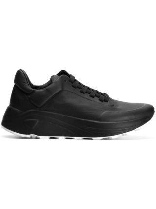 Del Carlo classic low-top sneakers (zwart)