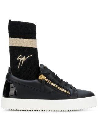 Giuseppe Zanotti Design Giuseppe Zanotti Design RW80036001 001 noir Furs & Skins->Leather (zwart)