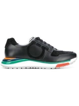 Salvatore Ferragamo Brooklyn sneakers (zwart)