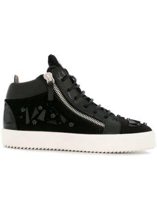 Giuseppe Zanotti Design Kriss hi-top sneakers (zwart)