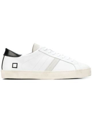 D.A.T.E. lace-up sneakers (wit)