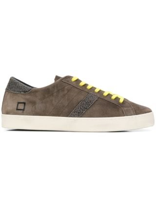 D.A.T.E. lace-up sneakers (bruin)