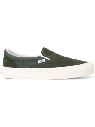 Vans VANS VN000UDFU9Q FOREST NIGHT/CILANTRO Synthetic->Acetate - Green
