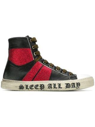 Amiri hi-top sneakers (zwart)