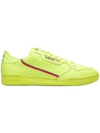 Adidas ADIDAS B41675 SEMI FROZEN YELLOW Leather/Fur/Exotic Skins->Leather - Yellow & Orange