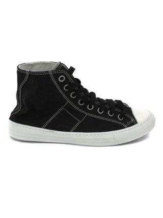 Maison Margiela Stereotype High-top Sneakers In Black Cotton. (Overige kleuren)