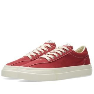 Stepney Workers Club Dellow Canvas Sneaker (Red)