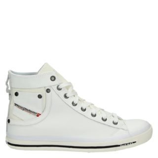 Diesel Exposure hoge sneakers wit