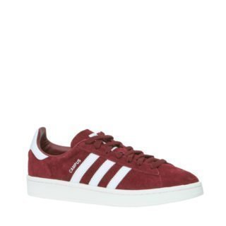 low priced 7c83b 646dc adidas originals Campus suède sneakers (heren) (rood)