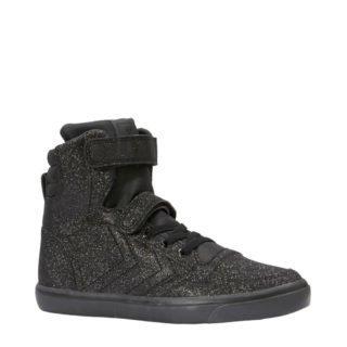 hummel Slimmer Stadil Glitter sneakers (meisjes) (zwart)