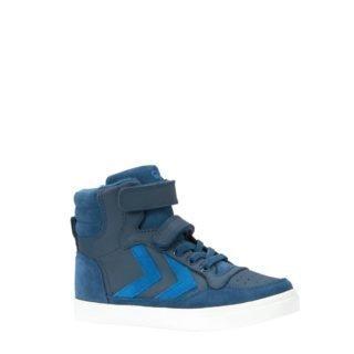 hummel Stadil leren sneakers blauw kids (blauw)