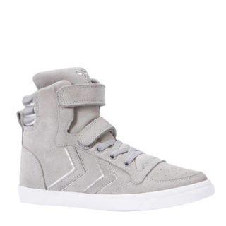 hummel Slimmer Stadil High TW sneakers jongens (grijs)