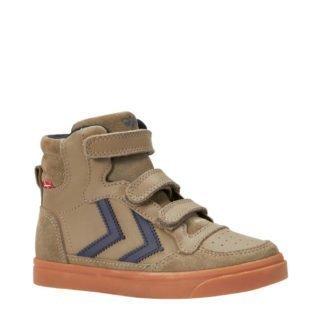 hummel Stadil leren sneakers jongens (bruin)