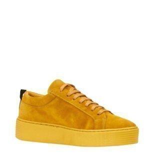 VERO MODA suède sneakers (dames) (geel)
