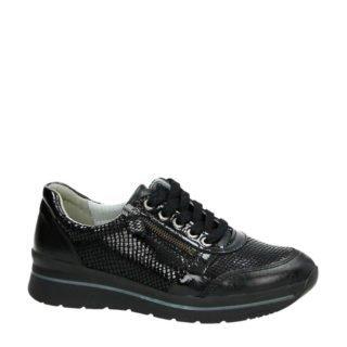 Nelson lakleren sneakers zwart (dames) (zwart)