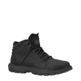 Caterpillar leren sneakers (heren) (zwart)