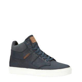 O'Neill leren sneakers donkerblauw (heren) (blauw)