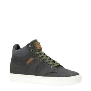 O'Neill leren sneakers kaki (heren) (groen)