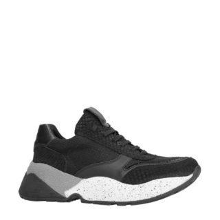 Sacha leren sneakers zwart (dames) (zwart)