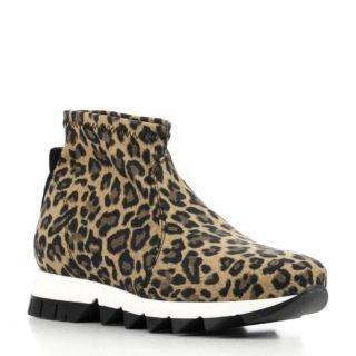 Rapisardi sneakers roodbruin (dames) (bruin)