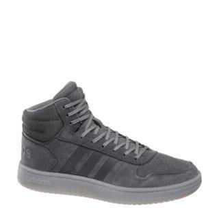vanHaren Hoops VS Mid suède sneakers grjis (heren) (grijs)