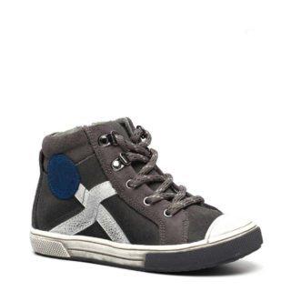 TwoDay suède sneakers grijs jongens (grijs)