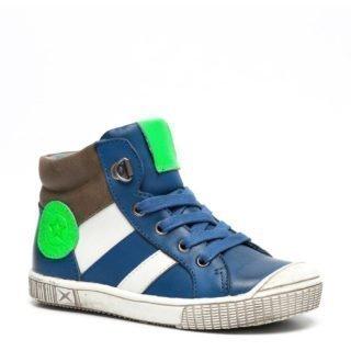 TwoDay leren jongens sneakers jongens (blauw)