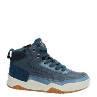 Geox leren sneakers blauw jongens (blauw)