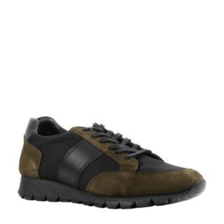 By Berry suède sneakers donkergroen (heren) (groen)