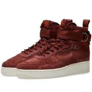 Nike SF Air Force 1 Mid (Red)