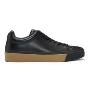 rag and bone Black Combo RB1 Low Sneakers