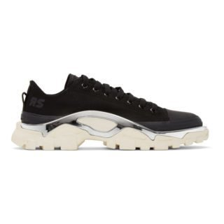 Raf Simons Black and White adidas Originals Edition RS Detroit Runner Sneakers