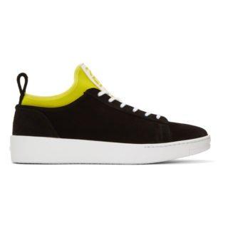 Kenzo Black K-City Sneakers