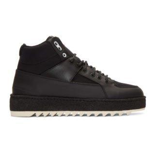 ETQ Amsterdam Black HT 02 Hiking Sneakers