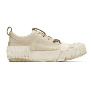Boris Bidjan Saberi Grey Kangaroo Sneakers